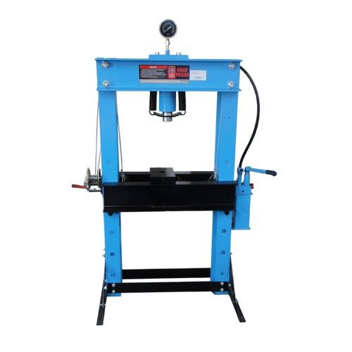 25004000 pressa idraulica per officina 50 t faec for Pressa idraulica per officina usata